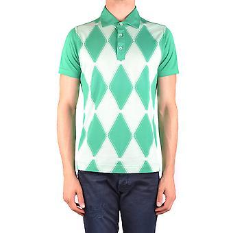 Ballantyne Ezbc099034 Men's Green Cotton Polo Shirt