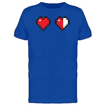 1 ونصف قلوب الرجال المحملة منقطة-الصورة عن طريق Shutterstock