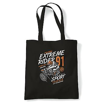 Extreme Rider 91.  Bicycle Off road Trick Bike -  Tote - Gift