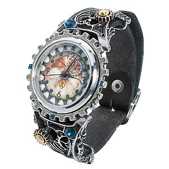 Alchemy Gothic Telford Chronocogulator relógio pewter Watch