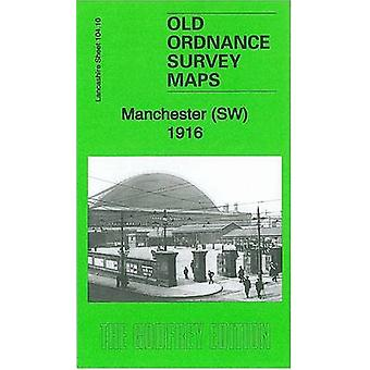 Manchester SW 1916 - Lancashire Sheet 104.10b by Chris Makepeace - 978