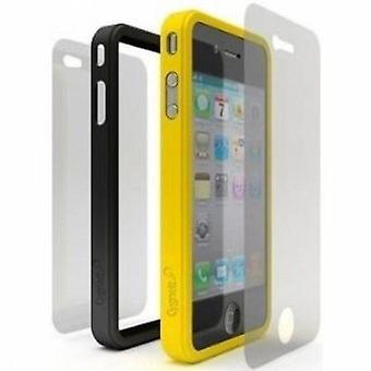 Cygnett Snaps Duo Silicone Frames for iPhone 4