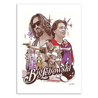 Art-Poster - The Big Lebowski - Joshua Budich 50 x 70 cm