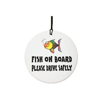 Fish On Board Car Air Freshener
