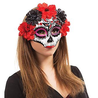 Bristol Novelty Unisex Adultes Day Of The Dead Darling Masque
