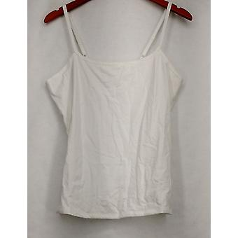 Liz Claiborne York hemd met ronde hals w/verstelbare bandjes wit A231828