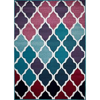 New Idea Rug Wilde Turquoise/Pink