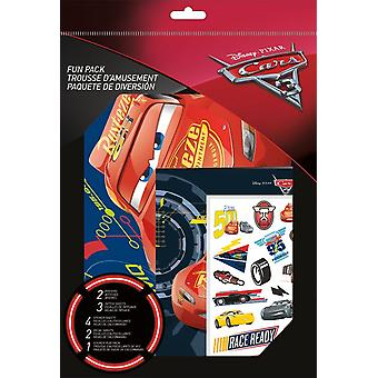 Fun Pack with Tattoos - Cars 3 New st6931