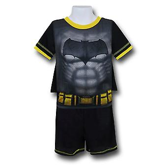 Set di pigiami Batman Kids Caped con pantaloncini