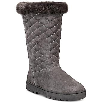 Style & Co. Womens Nickyy Faux Fur Closed Toe Mid-Calf Cold Weather Boots