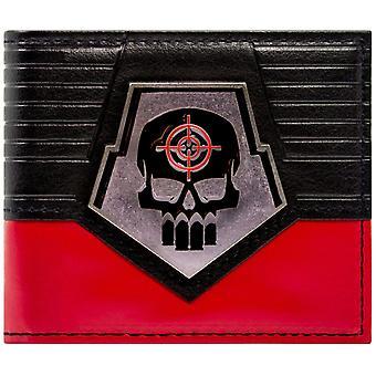 Selvmord Squad Deadshot metall kort Skull-ID & kort bretting lommebok