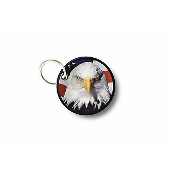Cle Cles Key Brode Patch Ecusson Flag USA USA America
