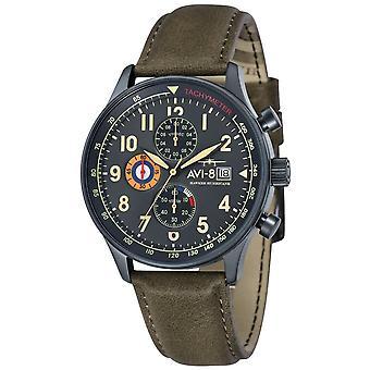 AVI-8 Hawker Hurricane Watch - Army Green/Gunmetal Grey