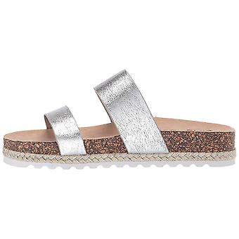 Dirty Laundry Womens Double Play Open Toe Casual Slide Sandals