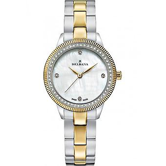 Delbana - Wristwatch - Ladies - Dress Collection - 52711.619.1.515 - Seville