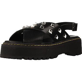Gele Subliminus sandalen studs kleur zwart