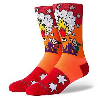 Stance Foundation Mens Socks ~ Cavolo Volcano