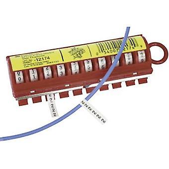 3M 80-6114-2802-2 Marqueur adhésif imprimé Impression 9 7000058792