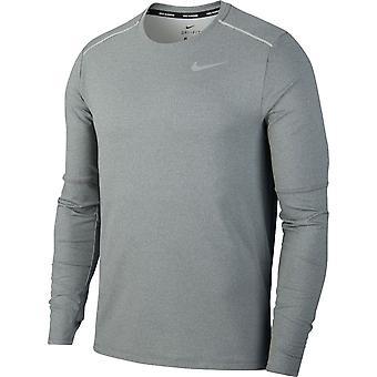Nike Element 3.0 Crew Long Sleeve | Smoke Grey Heather