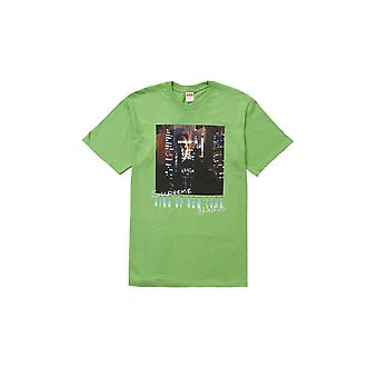 Supreme King Of New York Tee Green - Clothing