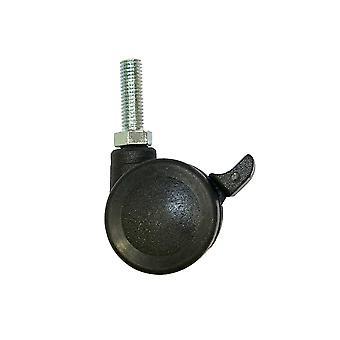 Bútor kerék fekete átmérője 3,5 cm (4 db)