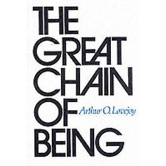 Great Chain of Being par Arthur O Lovejoy