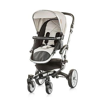 Chipolino stroller Angel 2 in 1, baby tub, sports seat, cover, leather handle