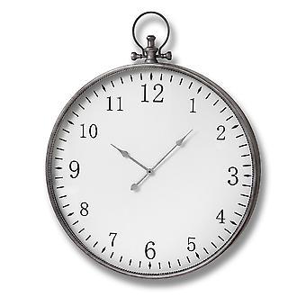 Colline intérieurs argent Pocket Watch horloge murale