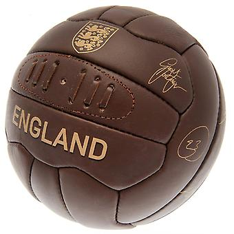 England FA Leather Retro Heritage Football