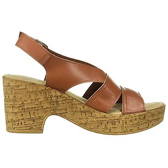 Bella Vita Women's Jaz-Italy Slingback Sandal Shoe, Whiskey Italian Leather, ...