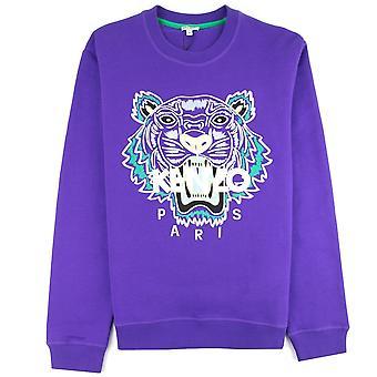 Kenzo Tiger Sweatshirt Paars