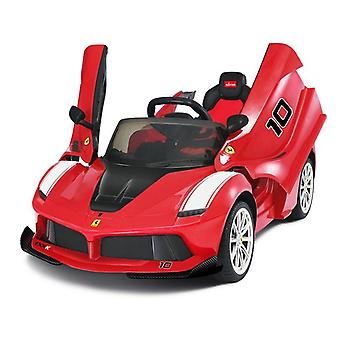 Licensed LaFerrari FXXK 12V Electric Ride On Car Red With Leather Seat