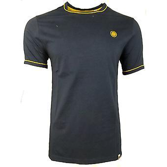 Hübsche grüne T-Shirts Piping gekippt T-Shirt