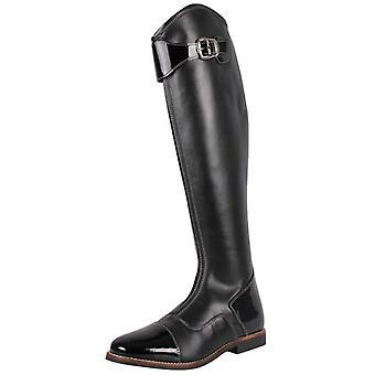 QHP d'équitation, bottes noir adulte Norah Ancha (chevaux, cavalier équipement, vêtements, chaussures)