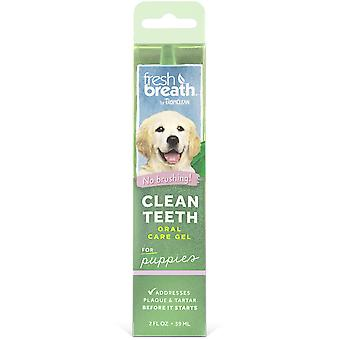 TropiClean Fresh Breath Gel Dental pour Chiots 59 ml
