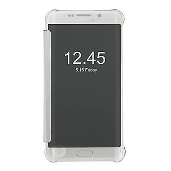 Se igennem - Plastic sag med vågne / hvile Samsung S7 Edge
