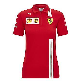 Scuderia Ferrari Women's Puma Replica Team Polo Shirt 2020