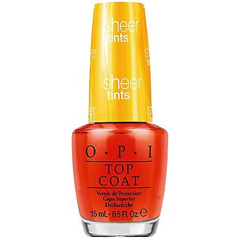 OPI Sheer Tints - Ik ben nooit amberrassed