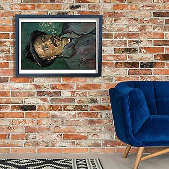 Vincent Van Gogh - Portrait of a One Eyed Man, 1888 Poster Print Giclee