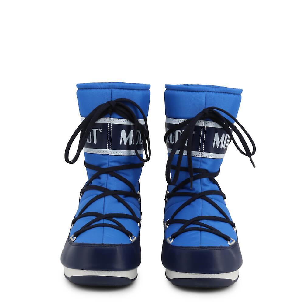Moon Boot Opprinnelige Kvinner Høst /vinter Støvel - Blå Farge 48700
