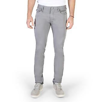 Armani Jeans Original Men Printemps/Été Pantalon gris Couleur - 58277
