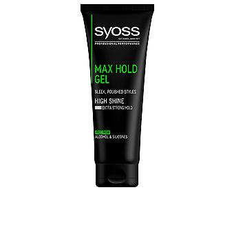 Syoss Gel Max Hold 250 Ml Unisex