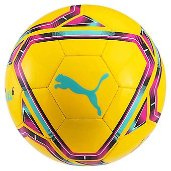Puma Final 6 MS Training Football Soccer Ball Yellow/Blue/Red