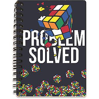 Rubik-apos;s Problème Résolu 3D A6 Notebook