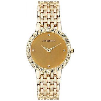 Watch Jean Bellecour Dufrene REDS20 - Watch Gold Torsade Woman