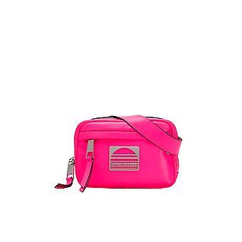 Marc Jacobs Ezgl033018 Women's Fuchsia Leather Shoulder Bag