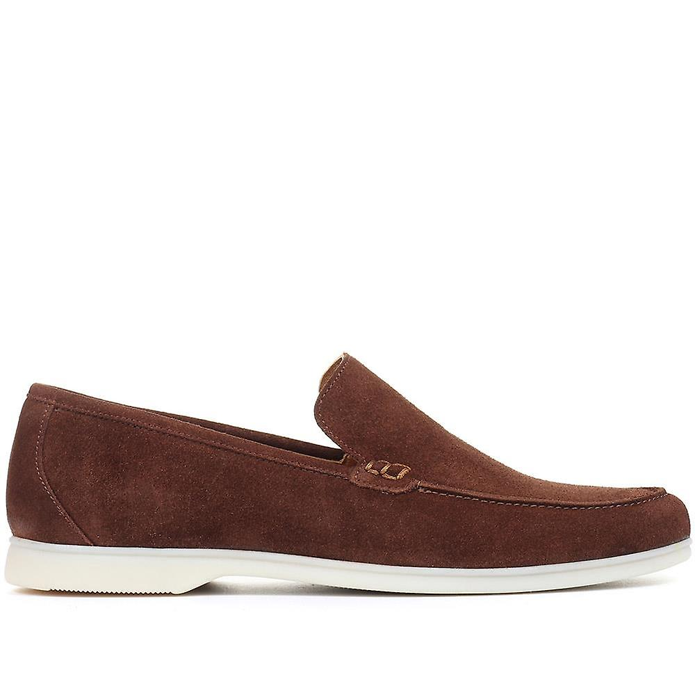 Jones Bootmaker Rafferty Leather Slip-On Loafer