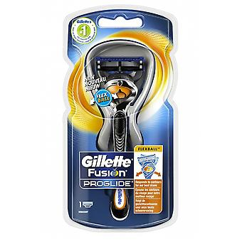 Gillette Fusion 5 ProGlide Flexiball Handle with Lubrstrip 1 Blade