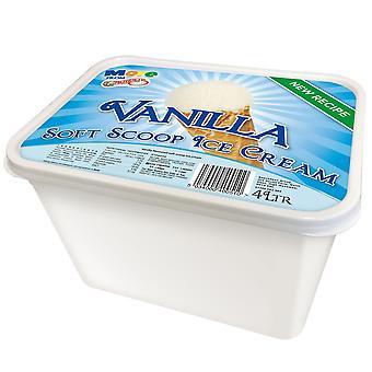 Granelli's Vanilla Flavoured Soft Scoop Ice Cream