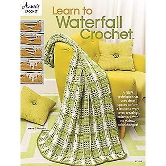 Learn to Waterfall Crochet by Joanne C. Gonzalez - 9781640250918 Book